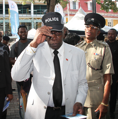 The new Top Cop? Photo Courtesy Trinidad Guardian website.