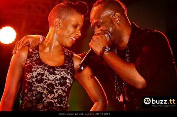 Fay Ann Lyons and Bunji Garlin